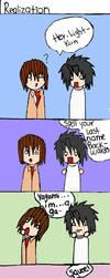 Death Note - Realization by DeathNoteJenny