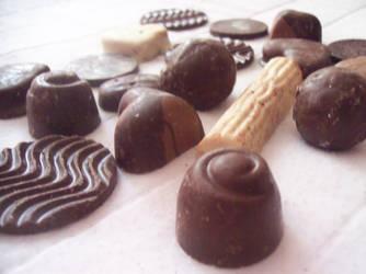 Black chocolate by ob-la-di-ob-la-das