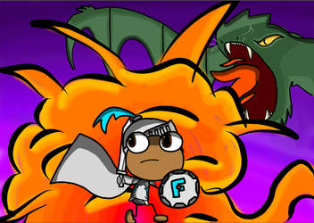 Fierce Flyer and the Dragon by FierceFlyer5