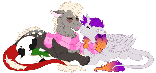 Comm:Nuzzles by Lopoddity