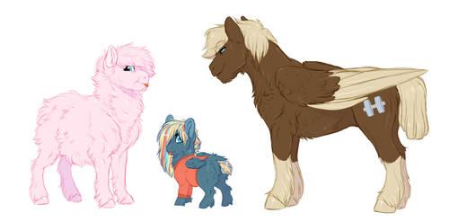HC: Fluffy Ponies by Lopoddity