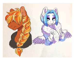 Fire and Ice by Lopoddity