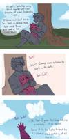 Comic: Sunshine AU by Lopoddity