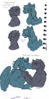 Doodle Dump: Sharknado Silliness by Lopoddity