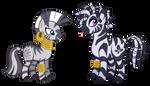 My Little Zebra by Lopoddity