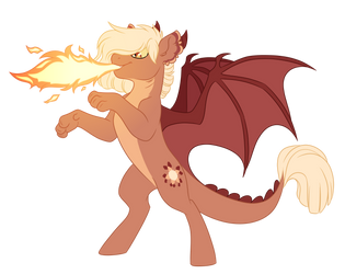 Comm: Dragonfire by Lopoddity