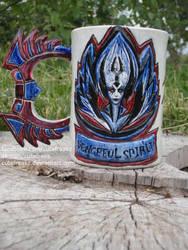 Vengeful Spirit mug by cutefreakz