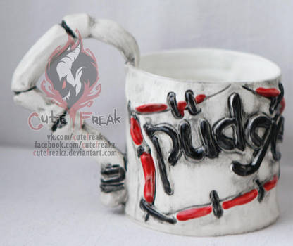Pudge mug (500ml) by cutefreakz