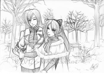 a Walk to Remember by KuroShiroHime