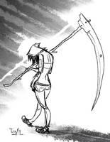 Daily Sketch Enero 02 by Tozani