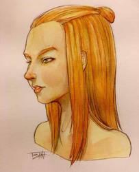 Nice hair. by Tozani