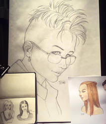 Sketching goes big. by Tozani