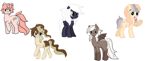 MLP ADOPT - Batch [2/5 OPEN] by ChocoNutty