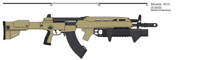 VS13 Assault Rifle by VoughtVindicator
