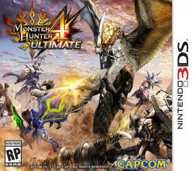 MH4U cover boxart fanart by InfinityWork