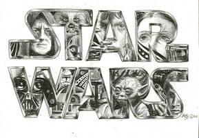 star wars sketch by bamboleo
