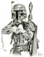 boba fett sketch by bamboleo