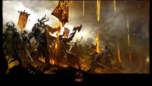 Guild Wars 2 WvW Wallpaper by cdh1994