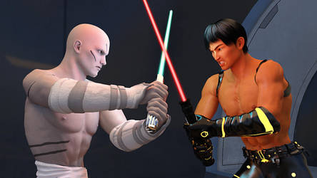 Duel by obieblu