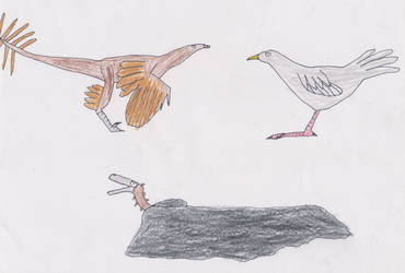 Primus, Vegid and Djhey by Tyrannotitan333