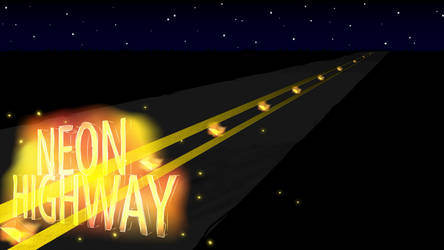 NEON HIGHWAY by Alaniers