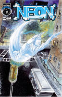 Cover to Neon issue two by afromation
