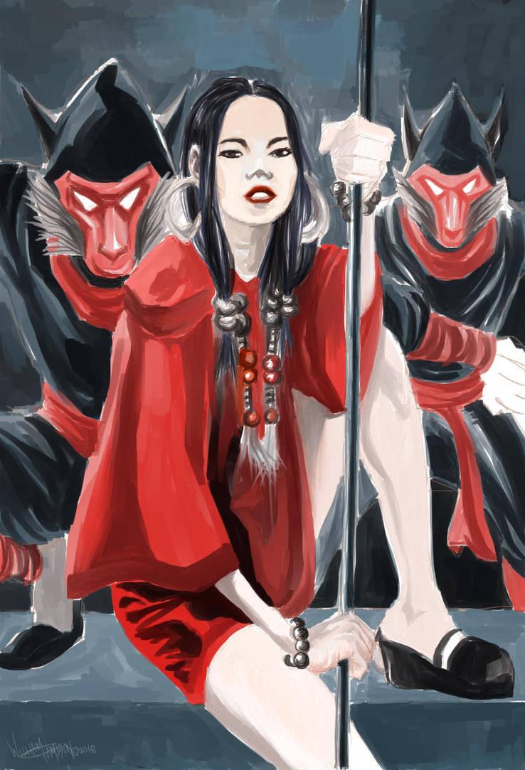 Kunoichi by afromation