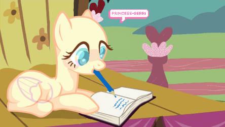 Dear Diary || BASE by Princess-Berri
