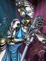 Jazz Robot by savagesparrow
