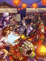 Lol: Art of Revelry by savagesparrow