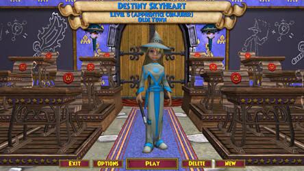 Destiny Skyheart on Wizard101 by animeslovers10