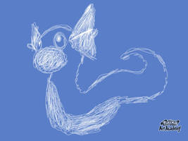 Dratini Quick Sketch by Maizox