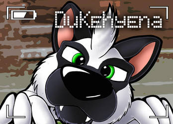 Nose-Up badge: Dukehyena by bigbluefox