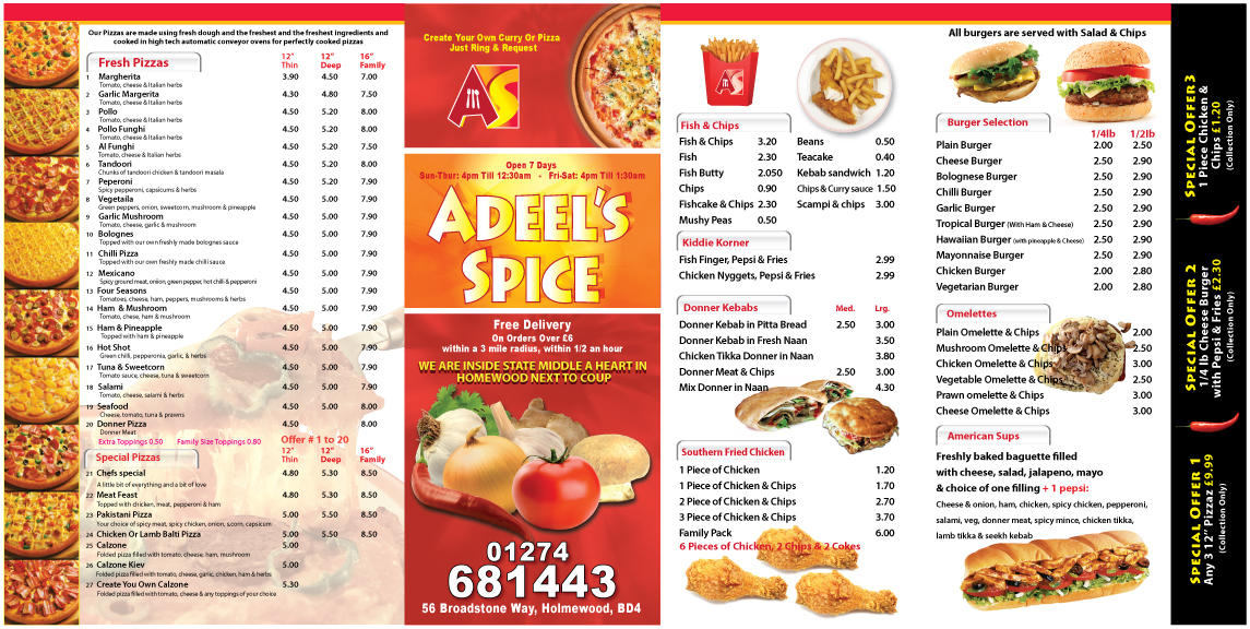 Adeels Fast Food Uk By Dsdesigner7 On Deviantart