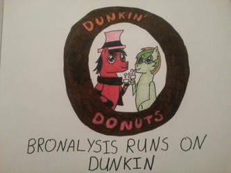 Bronalysis Runs on Dunkin by nikkichic109