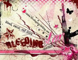Bleeding Star Flyer by BleedingStarClothing