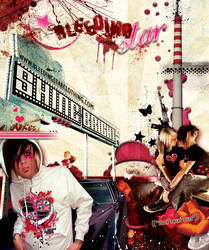 Alternative Press full page ad by BleedingStarClothing