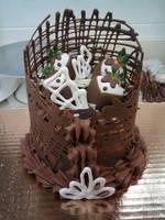 Mini-Decadent Chocolate Cake by Larissa-Rasputin