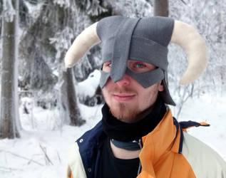 Dovahkiin Hat! [The Elder Scrolls V: Skyrim] by TeaLabel