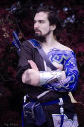 Hanzo Shimada cosplay [Overwatch] by TeaLabel
