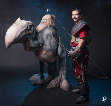 Diego and Scavenger/Scierwojad cosplay [GOTHIC] by TeaLabel