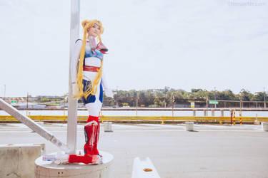 Futuristic Sailor Moon (Original Design) by Jeditwins