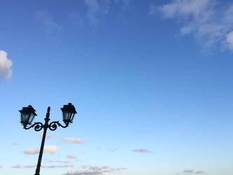 Standing in blue sky by IASONAS4