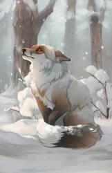 Snowfall by Foxjot