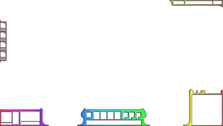 Rainbow overlay for LoL stream [OLD HUD] by cupcakez0mbie