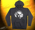 Design on Hoodie: Albert Einstein Illusion by UntouchableDesign