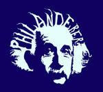 Albert Einstein Illusion by UntouchableDesign