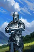 Knight by Conluoi