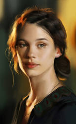 Astrid Berges Frisbey by Conluoi