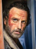 The Walking dead (Rick Grimes) by Windtalkerss